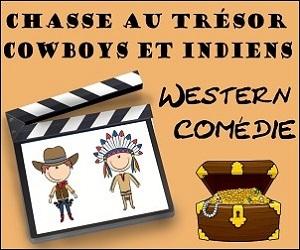 chasse au trésor cowboys et indiens