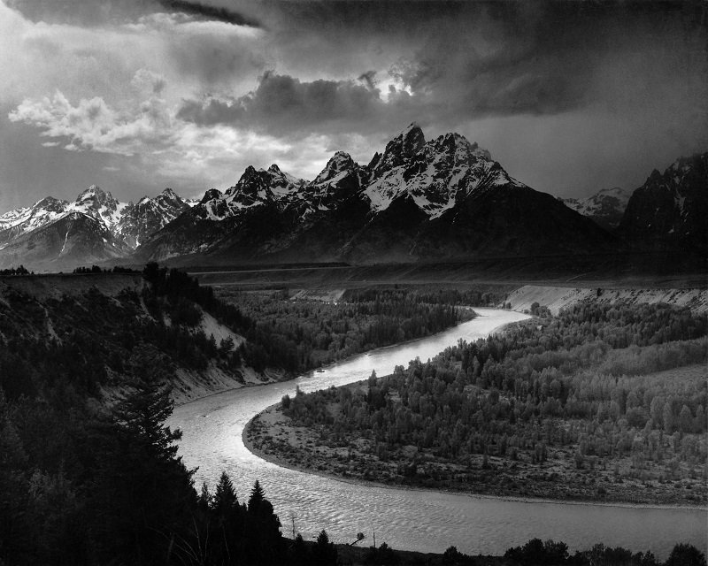 Grand Teton ansel adams