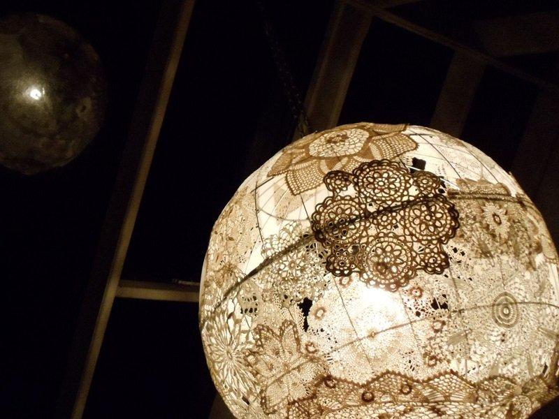 lampe napperon
