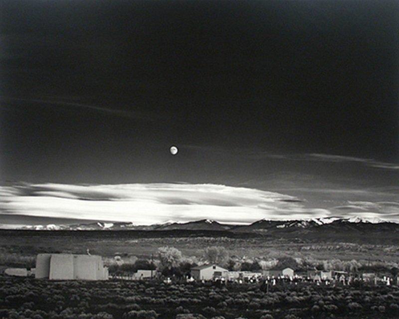lever de lune nouveau mexique