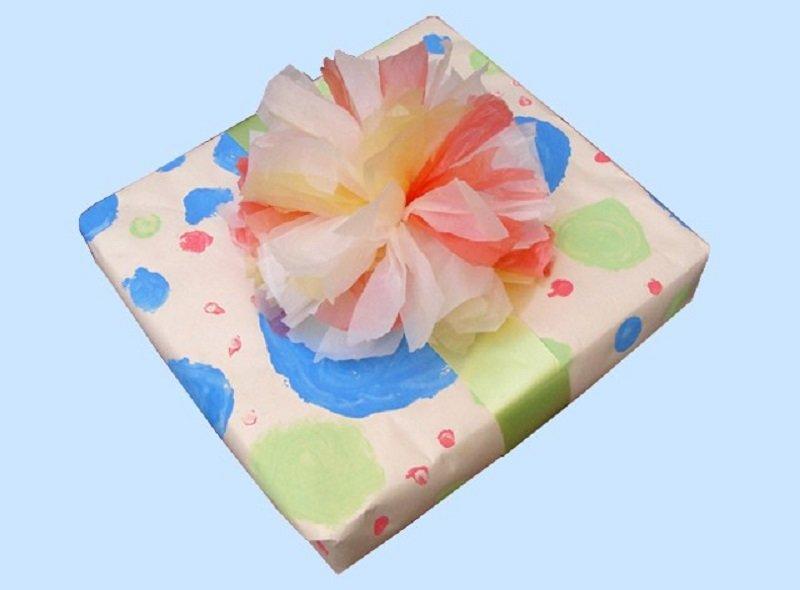 noeud de cadeau sacs plastiques