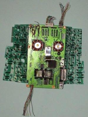 recycler ordinateur façon créative