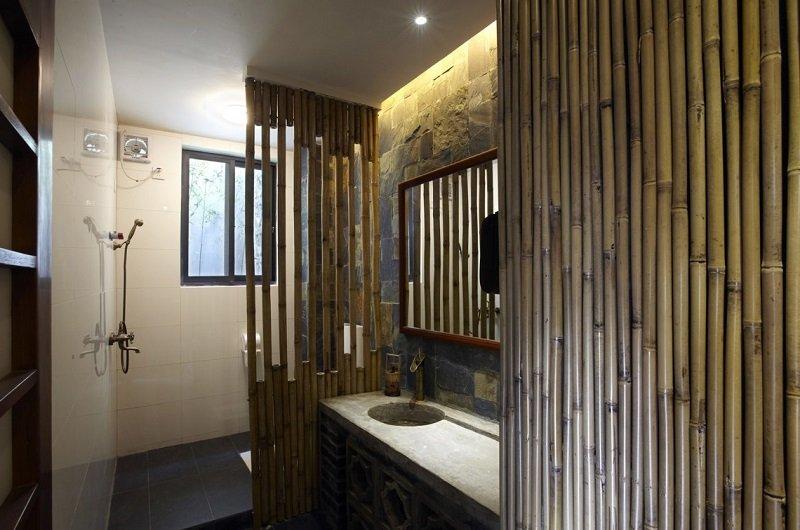 revetement mural bambou