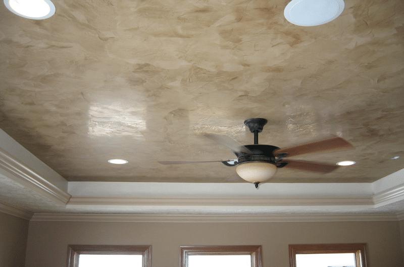 plafond en platre venitien