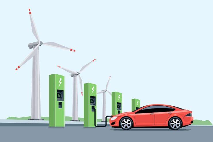 voiture électrique écologique